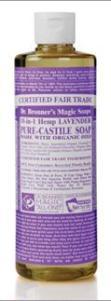 Dr. Bronner's Lavender Liquid Soap