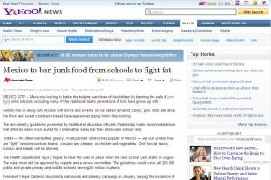 Yahoo! News article