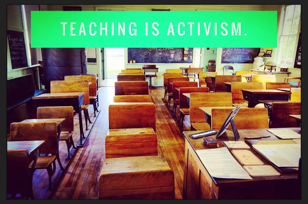 teachingisactivism